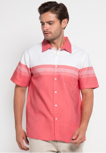 Contempo red Men Shirt S/S CO339AA0UI91ID_1