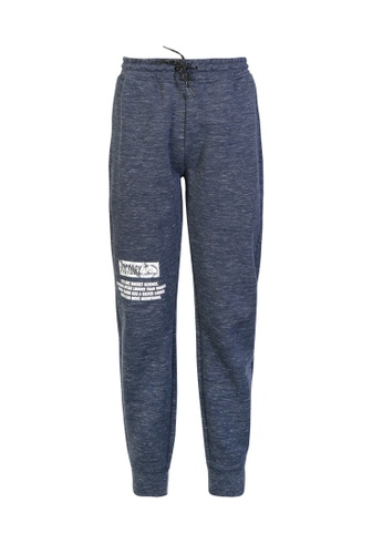 BSX blue BSX Woven Jogger pants 0411004309 9CCCEAA30BAC1BGS_1
