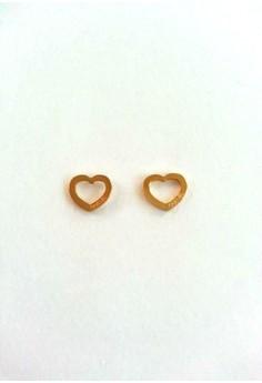 Heart Stainless Stud Earrings