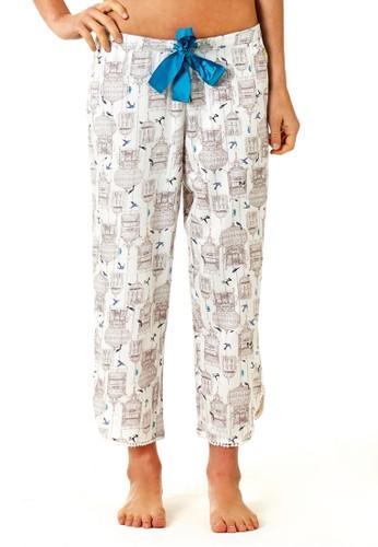 Aviary 印花九分睡褲, 服esprit 內衣飾, 睡褲