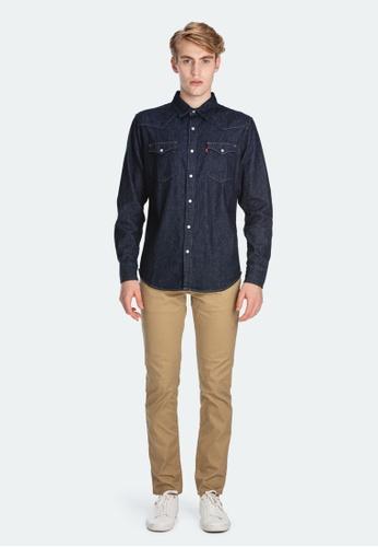 Levi's blue Levi's Classic Western Shirt 85745-0002 B90A7AA9E6F861GS_1