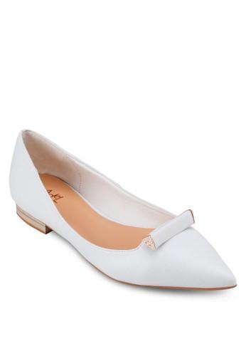 時尚尖頭平esprit服飾底鞋, 女鞋, 鞋