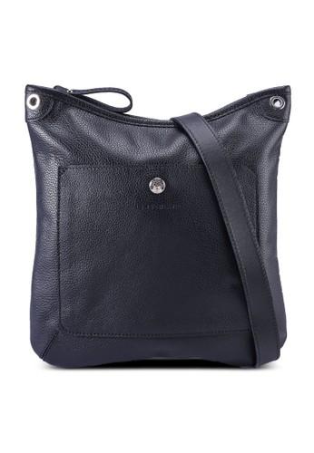 LONGCHAMP black Le Foulonné Crossbody Bag (zt) 91B32AC29F98B5GS_1