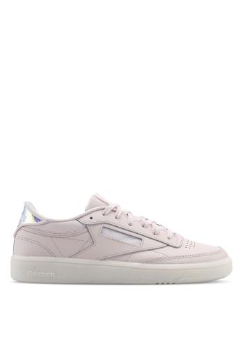 9bdcd7137cb3f Reebok pink Club C 85 Shoes AAE65SHBBAB115GS 1