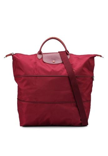 LONGCHAMP red Le Pliage Club Travel Bag (nt) 68176AC14ACF60GS_1