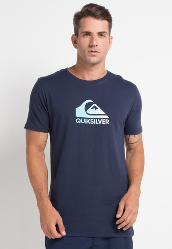 Quiksilver multi and navy As Basic Logo T-Shirt 8DD94AA4159867GS_1