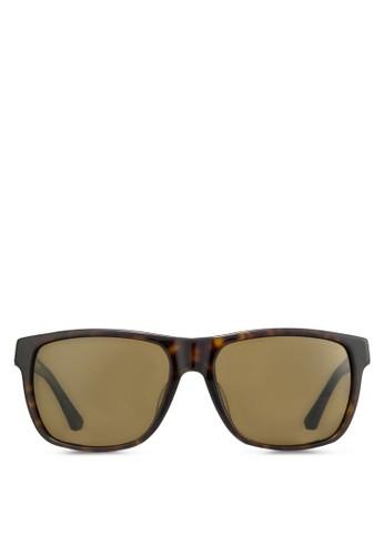 偏esprit 台灣光玳瑁太陽眼鏡, 飾品配件, 飾品配件