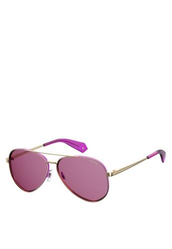 Polaroid gold PLD 6069/S/X Sunglasses 55773GLB927B02GS_1