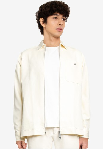 Selected Homme beige SLHLOOSEPETE STRETCH SHIRT LS B 65A47AA2DB9BE8GS_1