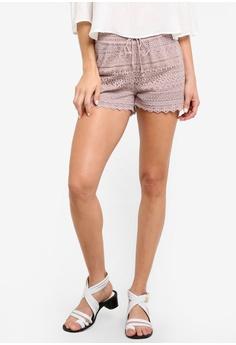 Honey 蕾絲 短褲