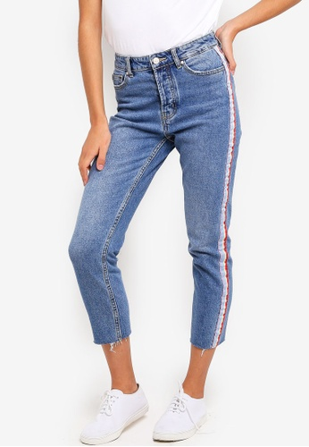 5ce10c8c2c2 Buy ONLY Emily Straight Rib Denim Jeans Online | ZALORA Malaysia