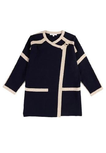 Chloé blue Chloé Elegant Coat 5B10EKA364BE85GS_1