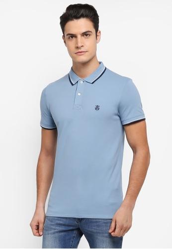 Selected Homme blue New Season Polo Shirt 29221AA094F230GS_1