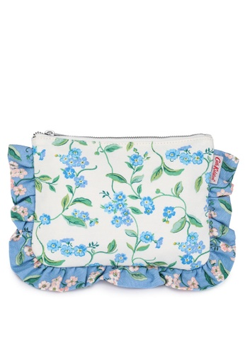Cath Kidston multi Forget Me Not Frilly Pouch 914A9ACE3683CDGS_1