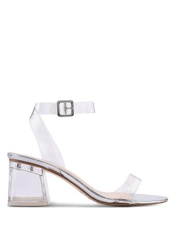 Public Desire silver Afternoon Low Heels D5317SH10B26C3GS_1