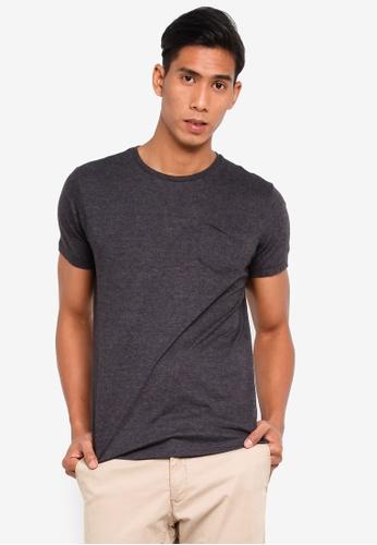 Brave Soul 灰色 口袋T恤 9EF35AAE37715EGS_1