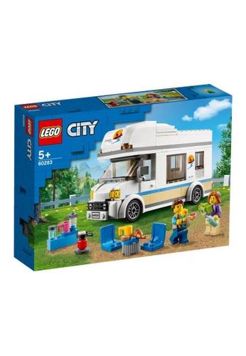 LEGO multi LEGO City Great Vehicles 60283 Holiday Camper Van (190 Pieces) 333DETH896B7C0GS_1
