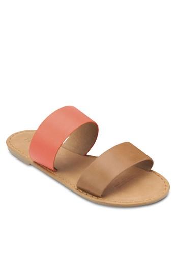 Kendall 雙寬帶涼鞋,esprit hong kong 女鞋, 鞋