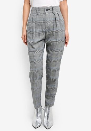 Mango grey Prince Of Wales Suit Trousers MA193AA0S6JFMY_1
