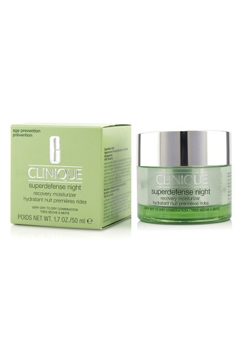 Clinique CLINIQUE - Superdefense Night Recovery Moisturizer - For Very Dry To Dry Combination 50ml/1.7oz 89245BEE2279F5GS_1