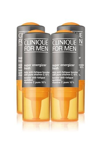 Clinique Clinique For Men Super Energizer™ Fresh Daily Anti-Fatigue Booster with Pure Vitamin C 10% 4pcs 36023BEA96D2A7GS_1