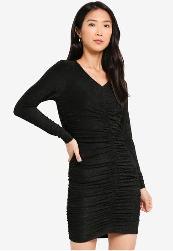Vero Moda black Josephine Mini Dress 02451AA7611326GS_1