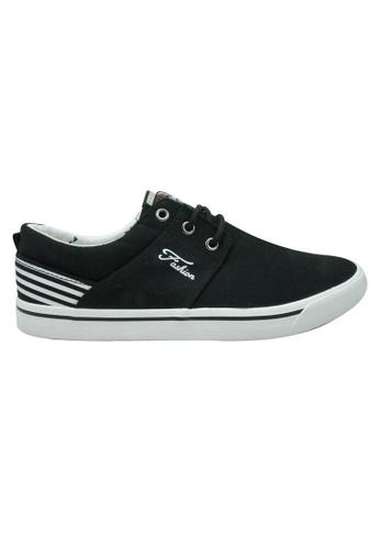 midzone black EGM Canvas Sneaker MI949SH82KLHMY_1