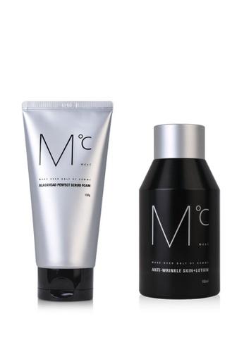 MdoC Blackhead Perfect Scrub Foam & Anti Wrinkle Skin Plus Lotion 2330ABEA6AD53CGS_1