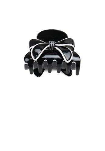 Glamorousky black Fashion Cute Ribbon Black Hair Claw A1245ACA5360EFGS_1