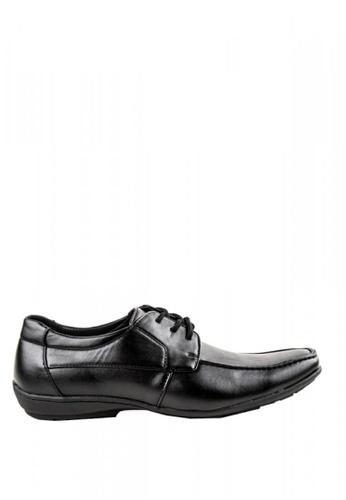 Otto black Lace-up Shoes F728CSH69F6E81GS_1