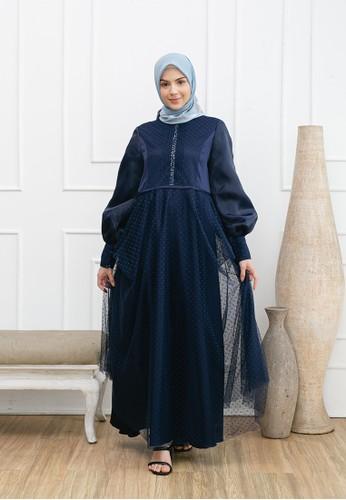 Yumnasa.id blue Yumnasa.id ELEANOR Evening Dress 96C34AA051C797GS_1