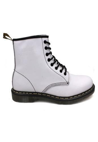 midzone white SCORPION Genuine Leather Lace Up Boots 1FA85SHD8E4568GS_1