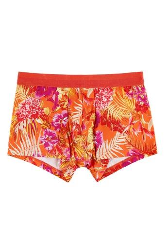 HOM 橘色 uatorial 平腳內褲 17277US05A18F3GS_1