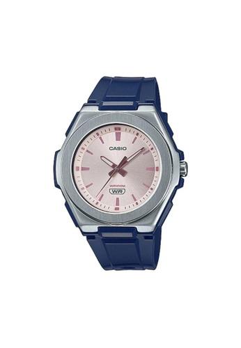 Casio blue CASIO GENERAL LWA-300H-2EVDF PINK DIAL WOMEN'S WATCH 03D12AC59D2F00GS_1