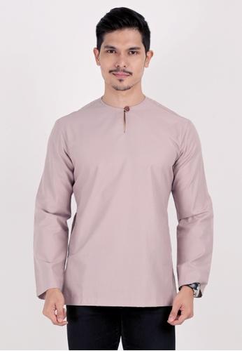VELRIA pink NASTIA Cotton Modern Kurta 54CDCAAA01E610GS_1