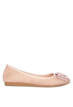 ca97fb1a3e1 Mendrez pink Seren Ballet Flats FD48FSHEAFEDA2GS 1