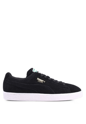 Puma black Sportstyle Prime Suede Classic Shoes FB1ABSHF850310GS_1