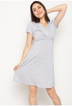 1d396dd7db927 MOTHERCOT Conley Stripes Empire Nursing Dress In Light Grey S$ 47.90. Sizes  XXS M XL XXL