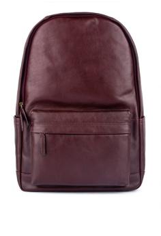 bf9cc243e427e Fossil red Buckner Backpack Bag 07852AC1174F3BGS 1