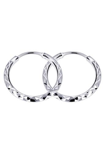 SC Tom Silver silver Prism 2 Loop Earring SC872AC17HTIPH_1