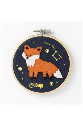 Klosh Felt Embroidery Kit - Fox 5F0FCHL626B900GS_1