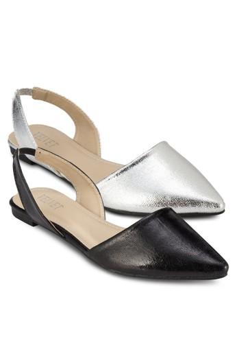 二入Penelozalora 心得pe 包頭踝帶平底鞋, 女鞋, 鞋