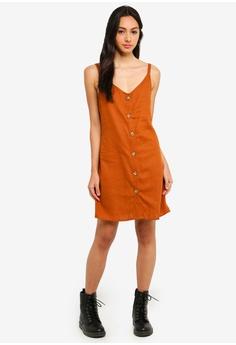 66e539a5fc8b 44% OFF Cotton On Woven Margot Slip Dress RM 93.00 NOW RM 51.90 Sizes XXS  XS S M L