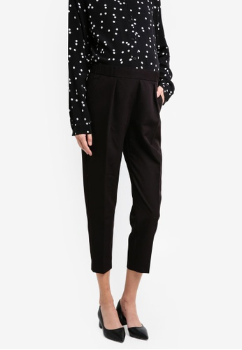 TOPSHOP black Maternity Tailor Peg Trousers TO412AA0T0WFMY_1