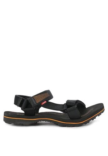 CARVIL black and orange Sandal Gunung Men Eden Gm D1E84SH11F222CGS_1