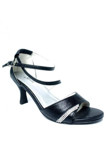 Ohrelle black Livie Ankle-Strap Heels OH449SH85FACPH_1