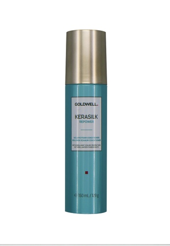 label.m blue Goldwell Kerasilk Repower Volume Foam Conditioner 150ML 4AA49BEDB7367AGS_1