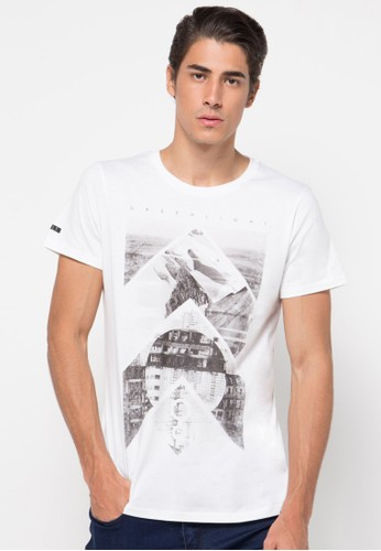 Mens Text Printed Tee