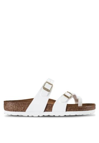 Birkenstock white Mayari Sandals BI090SH78JQBMY_1