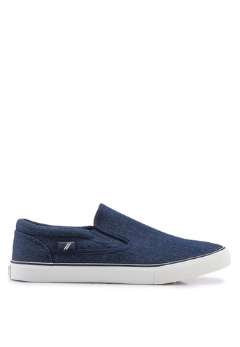 North Star navy Slip On Loafers 511F3SH3089F43GS_1